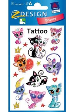 Tatuaże - Kotki