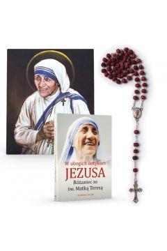 W ubogich dotykam Jezusa - różaniec+modlitewnik