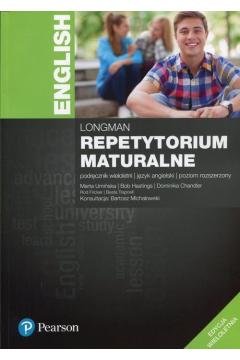 Repetytorium maturalne. Język angielski. Podręcznik wieloletni. Poziom rozszerzony