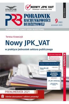 Nowy JPK_VAT w praktyce jednostek sektora publicznego