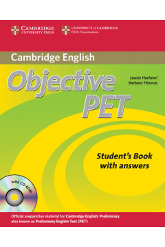 Objective PET Self-study Pack Student's Book with answers + 4CD