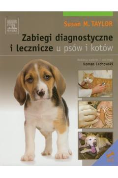 Zabiegi diagnostyczne i leczenicze u psów i kotów z płytą DVD