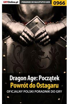 Dragon Age: Początek - Powrót do Ostagaru - poradnik do gry