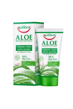 Aloe Bellezza Naturale Anti-Aging Face Cream aloesowy krem do twarzy przeciwstarzeniowy Aloe Vera