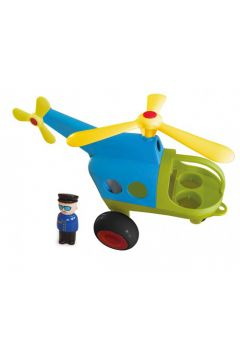 Helikopter Jumbo z figurką