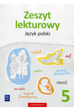 J.Polski SP 5 Zeszyt lekturowy WSiP
