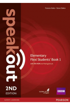 Speakout 2ed Elementary Flexi Students' Book 1 with DVD-ROM and MyEnglishLab