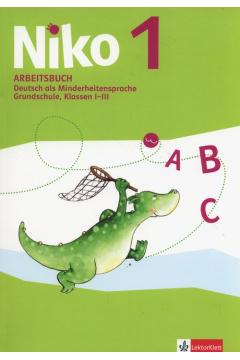 Niko 1. Arbeitsbuch. Język niemiecki. Zeszyt ćwiczeń do klasy 1-3 szkoły podstawowej