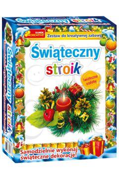 Zestaw do kreatywnej zabawy - Świąteczny stroik