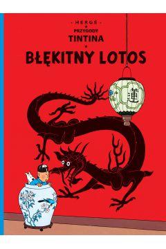 Przygody Tintina. Tom 5. Błękitny Lotos