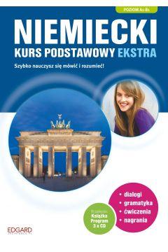 Niemiecki- Kurs podstawowy ekstra A1-B1 + CD