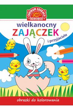 Obrazki do kolorowania Wielkanocny zajączek...