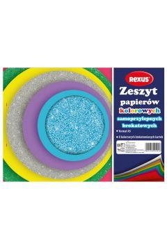 Papier kolorowy samoprzylepny A5/80K 609292  BENIAMIN