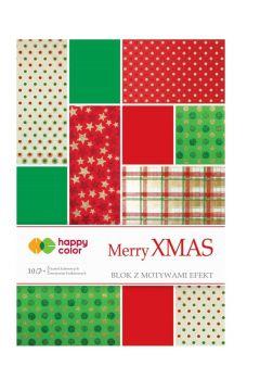 Blok Effect Merry Christmas 10 arkuszy mix wzorów