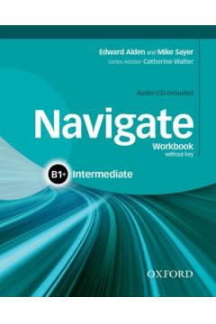 Navigate Intermediate B1+ Workbook without key and CD Pack