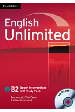 English Unlimited Upper Intermediate Self-study pack Workbook + DVD