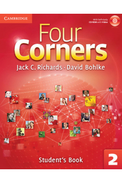 Four Corners 2 Student's Book with Self-study CD-ROM