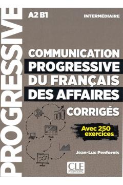 Communication progressive du francais des affaires nieveau intermediaire A2-B1 klucz