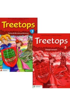 ZESTAW podręcznik i ćwiczenia Treetops klasa 3