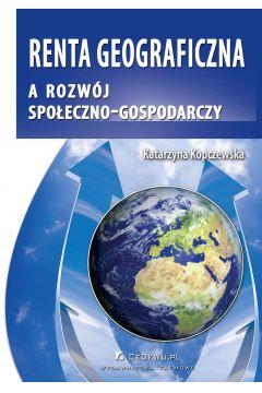 Renta geograficzna a rozwój społeczno-gospodarczy