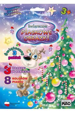 Piaskowe obrazki Pakiet świąteczny nr 3