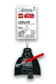Brelok do kluczy z latarką Darth Vader z mieczem świetlnym