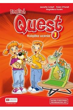 English Quest 1. Książka ucznia. Język angielski