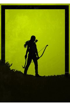 Dawn of Heroes - Lara Croft, Tomb Raider - plakat
