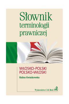 Słownik terminologii prawniczej włosko-polski polsko-włoski
