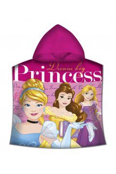 Poncho kąpielowe Disney Princess 100x50 cm WD19612M