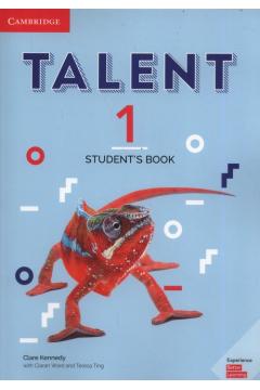 Talent 1. Poziom A2+. Student`s Book. Podręcznik do języka angielskiego