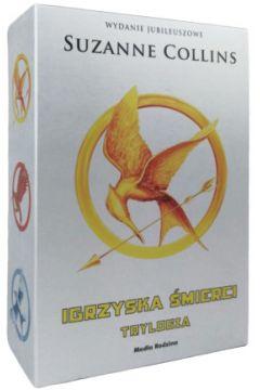 Pakiet Igrzyska śmierci. Tomy 1-3: Igrzyska śmierci, W pierścieniu ognia, Kosogłos