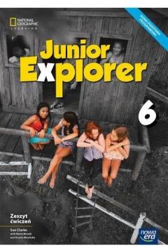 Junior Explorer 6. Zeszyt ćwiczeń do języka angielskiego dla klasy 6 szkoły podstawowej