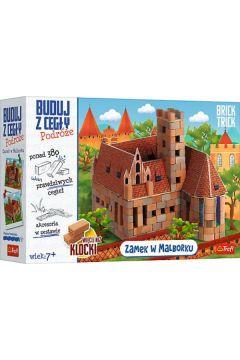 Brick Trick. Buduj z cegły. Zamek Malbork