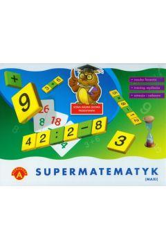 Supermatematyk MAXI - gra 0467  ALEXANDER