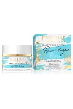 Beauty Foods Bio Vegan multinawilżający krem do twarzy Kokos