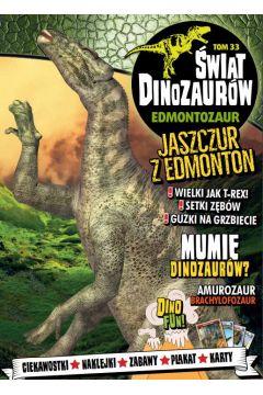 Świat Dinozaurów T.33 Edmontozaur