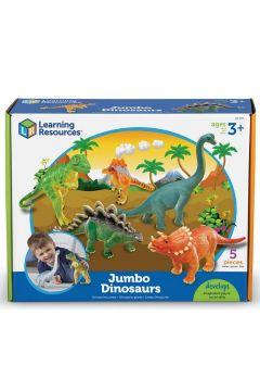 Duże Figurki. Dinozaury. Zestaw 1, 5 szt.