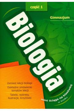 Biologia 1+ ściąga Gimnazjum