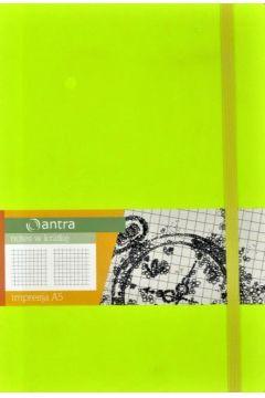 Notes A5 Kratka Impresja Limonka ANTRA