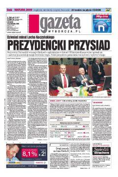 Gazeta Wyborcza - Częstochowa 243/2008