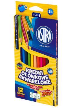 Kredki ołówkowe akwarelowe