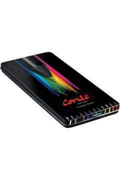 Kredki Conte metal box 12 kolorów BIC