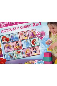Disney Princess Activity Cubes 2w1