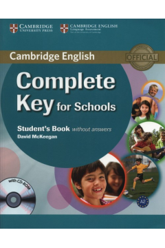 Complete Key for Schools Student's Book without answers + CD