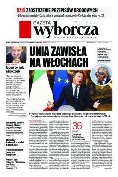 Gazeta Wyborcza - Częstochowa 284/2016