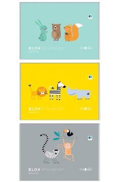 Blok rysunkowy A3 Kids pastel