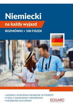 Pakiet. Niemiecki na każdy wyjazd. Rozmówki + 100 fiszek