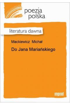 Do Jana Mariańskiego