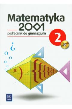 Matematyka GIM 2001 2  podr.  WSiP